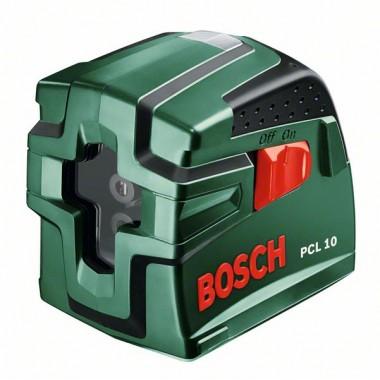 Лазерный уровень с перекрестными лучами Bosch PCL 10 (0603008120)