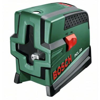 Лазер с перекрёстными лучами с функцией отвеса Bosch PCL 20 (0603008220)