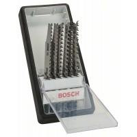 Набор из 6 пильных полотен Robust Line, Wood Expert, с T-образным хвостовиком Bosch 2607010572