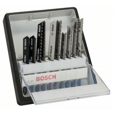 Набор из 10 пильных полотен Robust Line Top Expert, с T-образным хвостовиком Bosch 2607010574