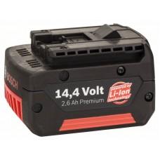 Аккумулятор 14,4 В Standard Duty (SD), 2,6 Ah, Li-Ion, GBA M-C Bosch 2607336078