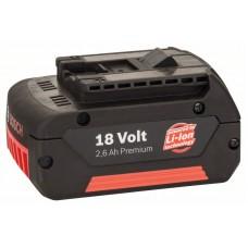 Аккумулятор 18 В Standard Duty (SD), 2,6 Ah, Li-Ion, GBA M-C Bosch 2607336092