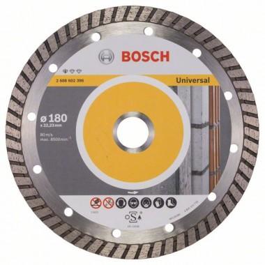 Алмазный диск Standard for Universal Turbo 180x22,23x2,5x10 мм Bosch 2608602396