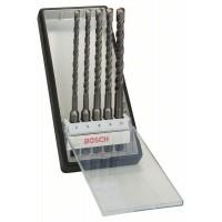Набор Robust Line из буров SDS-plus-5 (6,6,8,8,10x165 мм) Bosch 2607019928
