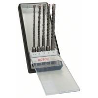 Набор Robust Line из буров SDS-plus-5 (5,5,6,7,8,10x165 мм) Bosch 2607019929