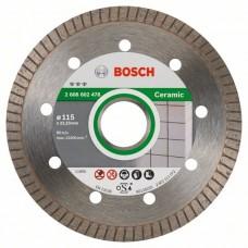 Алмазный диск Best for Ceramic Extra-Clean Turbo 115x22,23x1,4x7 мм Bosch 2608602478
