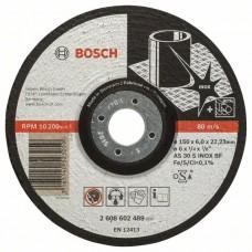 Обдирочный круг выпуклый Expert for Inox AS 30 S INOX BF 150x6,0 мм Bosch 2608602489