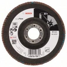 Лепестковый шлифкруг X581 Best for Inox 125x22,23 мм, 60 Bosch 2608607639