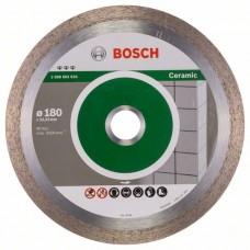 Алмазный диск Best for Ceramic 180x22,23x2,2x10 мм Bosch 2608602633