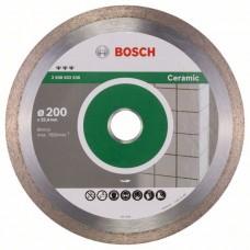 Алмазный диск Best for Ceramic 200x25,40x2,2x10 мм Bosch 2608602636
