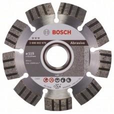 Алмазный диск Best for Abrasive 115x22,23x2,2x12 мм Bosch 2608602679