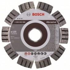 Алмазный диск Best for Abrasive 125x22,23x2,2x12 мм Bosch 2608602680