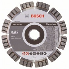 Алмазный диск Best for Abrasive 150x22,23x2,4x12 мм Bosch 2608602681