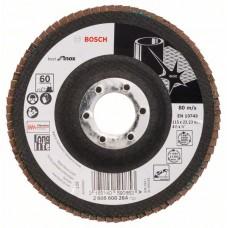 Лепестковый шлифкруг X581 Best for Inox 115x22,23 мм, 60 Bosch 2608608264