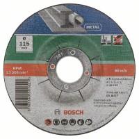 Набор из 5 отрезных кругов, выпукл., по металлу A 30 S BF Bosch 2609256332