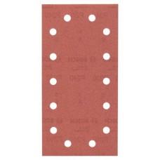Набор из 10 шлифлистов для виброшлифмашин 115x230, 240 Bosch 2609256B24