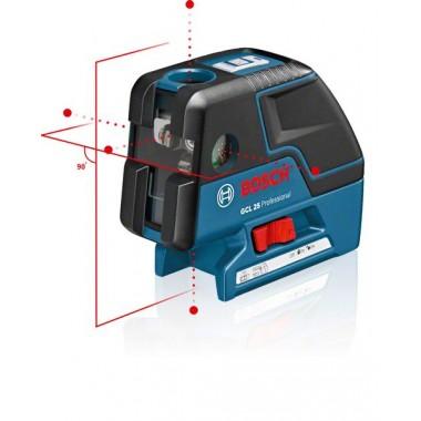 Комбинированный лазерный уровень Bosch GCL 25 (0601066B00)