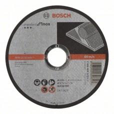 Отрезной круг прямой Standard for Inox WA 60 T BF 125x22,23x1,6 мм Bosch 2608603172