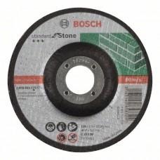 Отрезной круг выпуклый Standard for Stone C 30 S BF 115x22,23x2,5 мм Bosch 2608603173