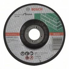 Отрезной круг выпуклый Standard for Stone C 30 S BF 125x22,23x2,5 мм Bosch 2608603174