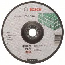 Отрезной круг выпуклый Standard for Stone C 30 S BF 180x22,23x3,0 мм Bosch 2608603175