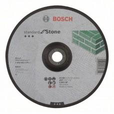 Отрезной круг выпуклый Standard for Stone C 30 S BF 230x22,23x3,0 мм Bosch 2608603176