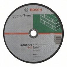Отрезной круг прямой Standard for Stone C 30 S BF 230x22,23x3,0 мм Bosch 2608603180