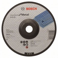 Обдирочный круг выпуклый Standard for Metal A 24 P BF 180x22,23x6,0 мм Bosch 2608603183