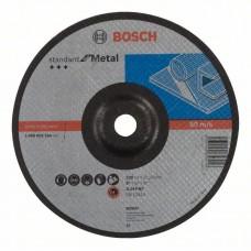 Обдирочный круг выпуклый Standard for Metal A 24 P BF  230x22,23x 6,0 мм Bosch 2608603184