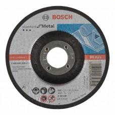 Отрезной круг выпуклый Standard for Metal A 30 S BF 115x22,23x2,5 мм Bosch 2608603159