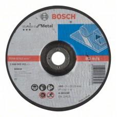 Отрезной круг выпуклый Standard for Metal A 30 S BF 180x22,23x3,0 мм Bosch 2608603161