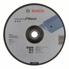 Отрезной круг выпуклый Standard for Metal A 30 S BF 230x22,23x3,0 мм Bosch 2608603162