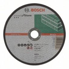 Отрезной круг прямой Standard for Stone C 30 S BF 180x22,23x3,0 мм Bosch 2608603179