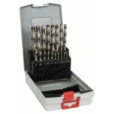 Набор из 19 сверл по металлу HSS-G, DIN 338, 135°, в ProBox 1-10 мм Bosch 2608587013