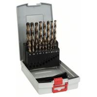 Набор сверл по металлу из 19 предм. ProBox HSS-Co, DIN 338 (легирование кобальтом) 1-10 мм Bosch 2608587014