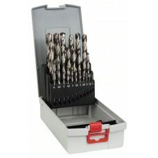 Набор из 25 сверл по металлу HSS-G, DIN 338, 135°, в ProBox 1-13 мм Bosch 2608587017