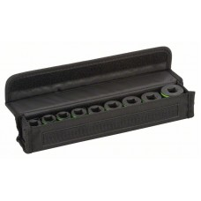 Набор головок для торцовых ключей 9 предм. 38 мм; 10, 11, 13, 17, 19, 21, 22, 24, 27 мм Bosch 2608551100