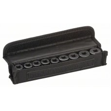 Набор головок для торцовых ключей 9 предм. 30 мм; 7, 8, 10, 12, 13, 15, 16, 17, 19 мм Bosch 2608551098