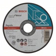 Отрезной круг прямой Expert for Metal, Rapido AS 60 T BF 125x1,0 мм Bosch 2608603396