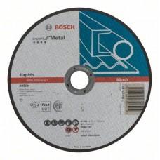 Отрезной круг прямой Expert for Metal, Rapido AS 46 T BF 180x1,6 мм Bosch 2608603399