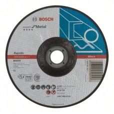 Отрезной круг выпуклый Expert for Metal, Rapido AS 46 T BF 180x1,6 мм Bosch 2608603403
