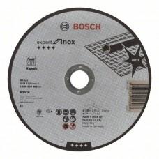 Отрезной круг прямой Expert for Inox - Rapido AS 46 T INOX BF 180x1,6 мм Bosch 2608603406