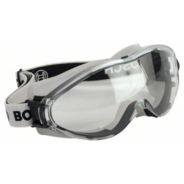 Полнообзорные защитные очки GO FV2 EN 166 Bosch 2607990088