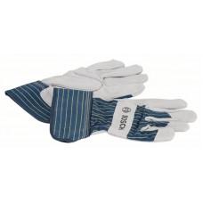 Защитные перчатки из воловьего спилка GL SL 10 EN 388 Bosch 2607990104