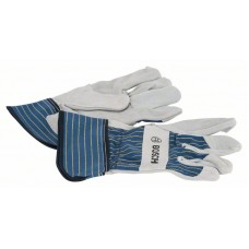 Защитные перчатки из воловьего спилка GL SL 11 EN 388 Bosch 2607990106