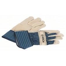 Защитные перчатки из воловьей кожи GL FL 10 EN 388 Bosch 2607990108