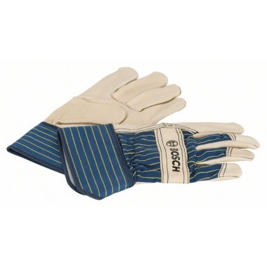 Защитные перчатки из воловьей кожи GL FL 10 EN 388 Bosch 2607990109