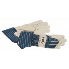 Защитные перчатки из воловьей кожи GL FL 11 EN 388 Bosch 2607990111