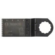 Погружное пильное полотно BIM SAIZ 32 BB Hard Wood 40x32 мм Bosch 2608662039