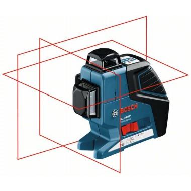 Линейный лазерный нивелир Bosch GLL 3-80 P (0601063306)